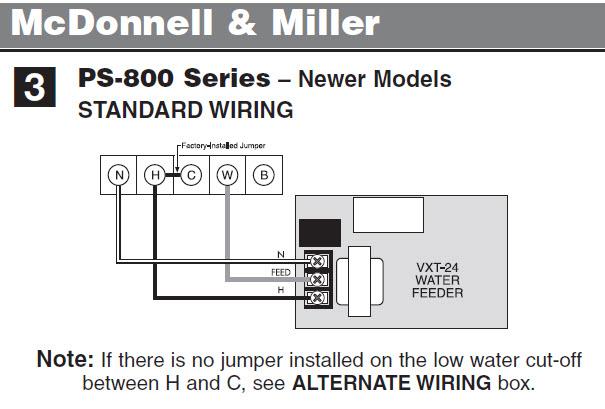 Hydrolevel VXT-24 Is not feeding Water - Steam Boiler - DoItYourself