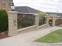 Footing for cement block fence post? - DoItYourself.com ...