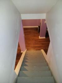 Basement Hand Railing - half open wall - DoItYourself.com ...
