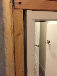 Prehung Smaller Door for Attic Access? - DoItYourself.com ...