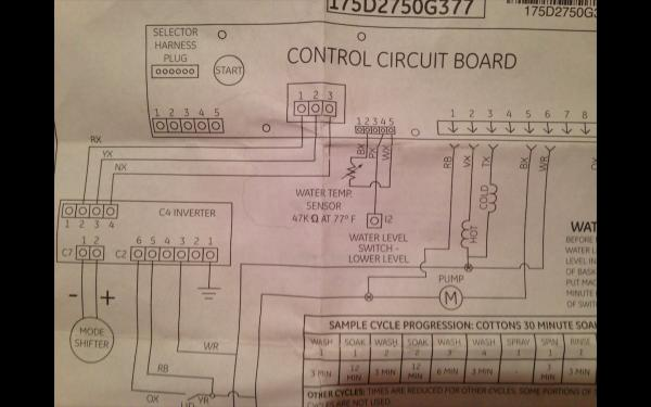 Ge Washing Machine Pump Wiring Wiring Diagram