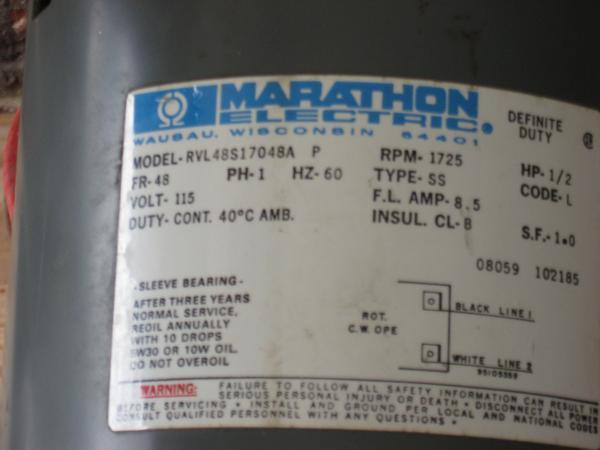 marathon motor capacitor wiring diagram marathon hp capacitor start