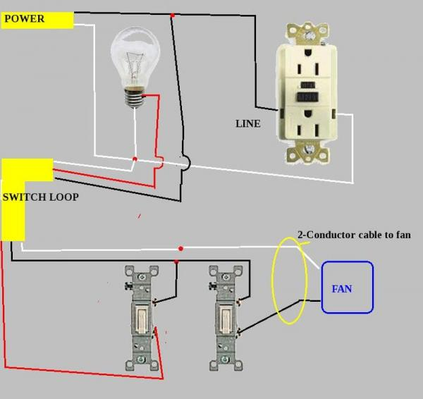 Bathroom Wire Diagram Wiring Diagram