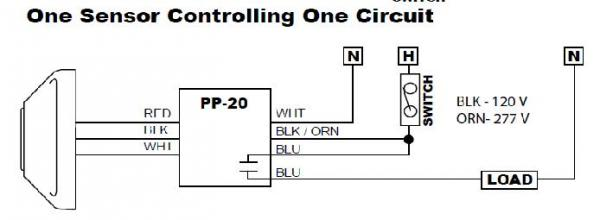 occupancy sensor power pack wiring diagram