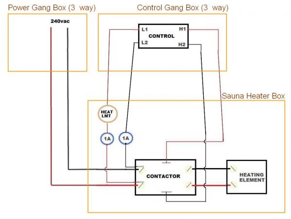 3 Way Wiring Diagram Contactor Online Wiring Diagram