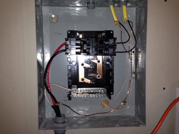 Garage Fuse Box Wiring Wiring Diagram