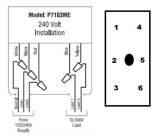 dc timer switch wiring diagram