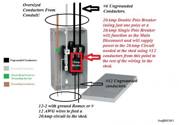 Main Disconnect Wiring Diagram Wiring Diagram