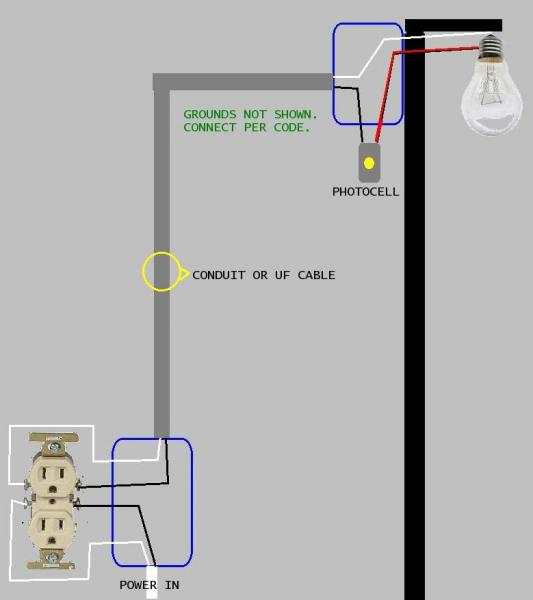 Wiring Diagrams Photocells Lights I have four three pole lighting