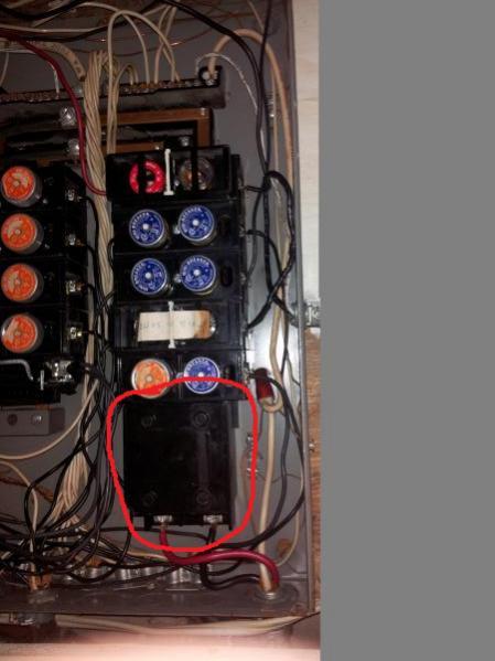 edison fuse box socket replacement