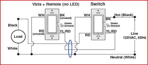 3 way switch remote