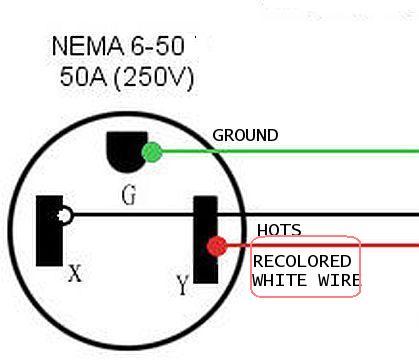 Nema 6 50 Plug Diagram Wiring Schematic Diagram