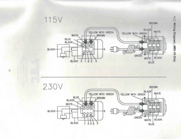Electric motor wiring diagram - DoItYourself Community Forums