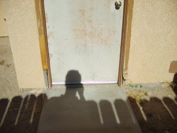 How To Fix Exterior Door Frame Partially - Doityourself.Com