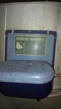 1940's Massive Skuttle Vapoglas humidifier hot air furnace ...