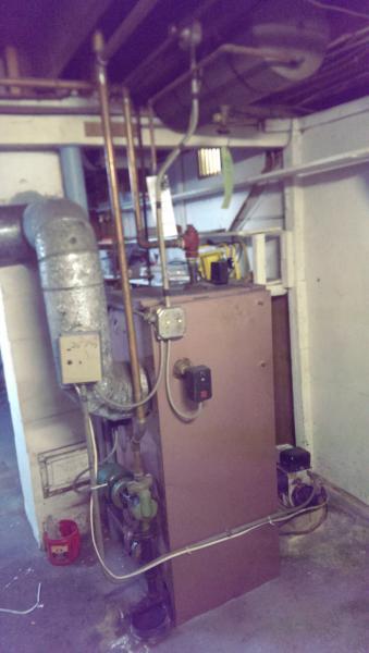 Burnham V3 Boiler