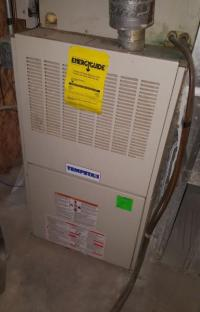 Furnace turns on but won't blow air; fan works by itself ...