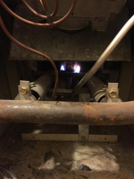 Propane furnace won't light