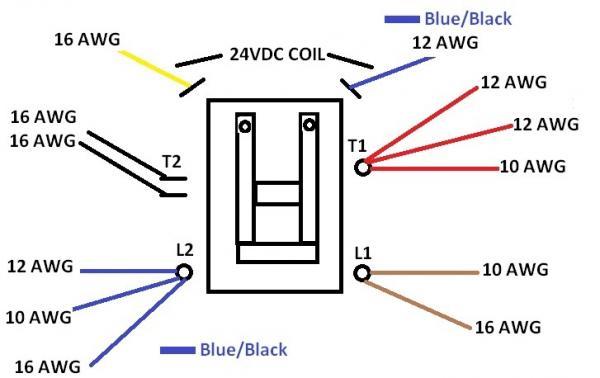 Air Conditioner Contactor Wiring Diagram - Wwwcaseistore \u2022