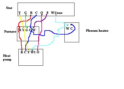 Thermostat Wiring Diagram Also Heat Pump Thermostat Wiring Diagrams