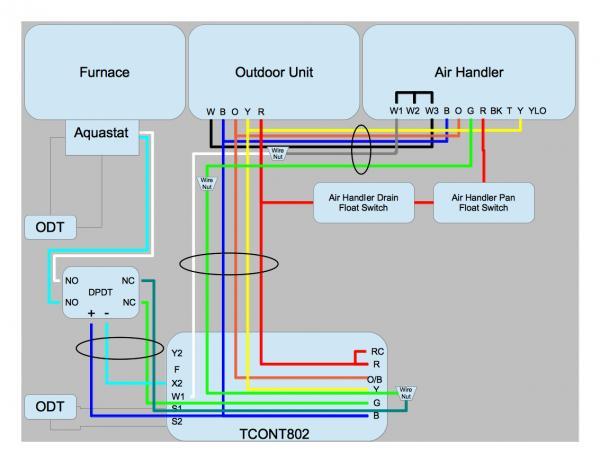 basic hvac wiring diagrams residential