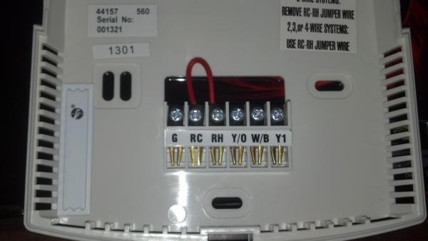 Pellet Stove Thermostat Wiring Diagram Replacing A Goodman Janitrol Hpt 18 60 Thermostat