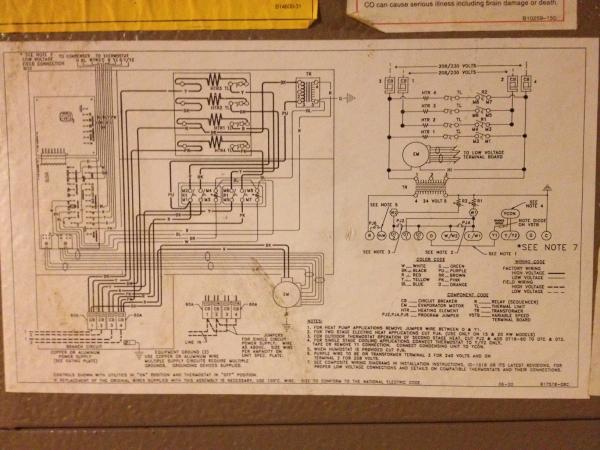 furnace blower wiring