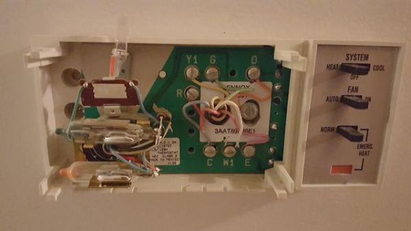 bryant heat pump thermostat wiring