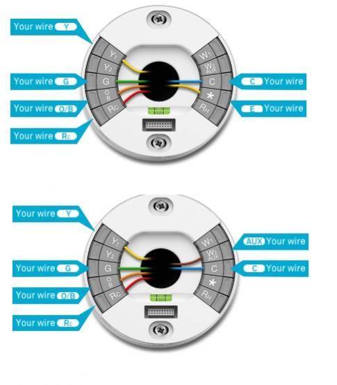 Nest Thermostat Wiring Diagram For Heat Pump - 811