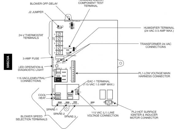 generalaire humidifier wiring diagram