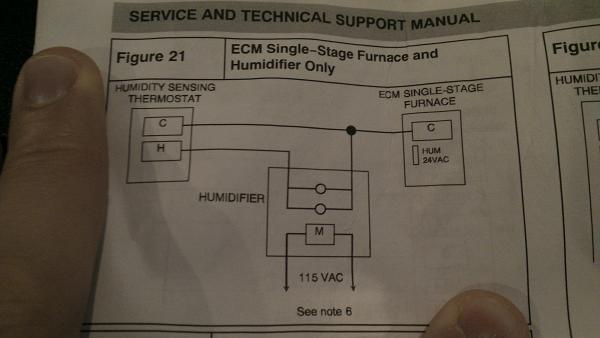 Aprilaire 600 (Auto) Install on Comfortmaker Furnace - DoItYourself