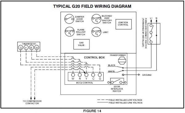 wiring diagram lennox icomfort