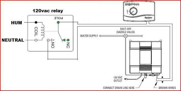 current sensing relay rib