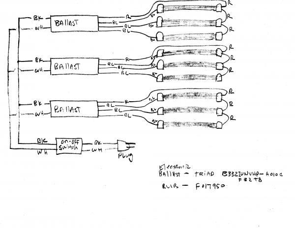 t8 fluorescent bulbs wiring diagram
