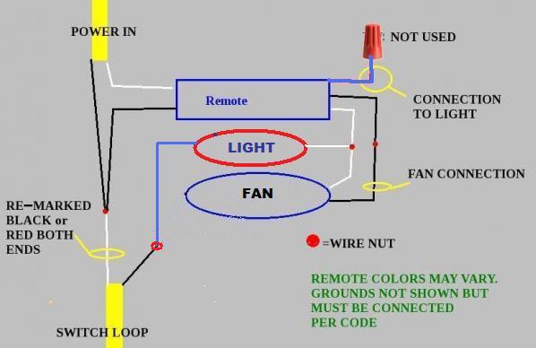 Hunter Fan Remote Wiring Diagram Wiring Diagram
