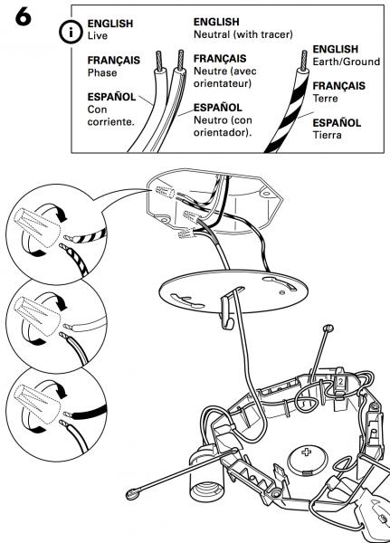 ikea light wiring diagram