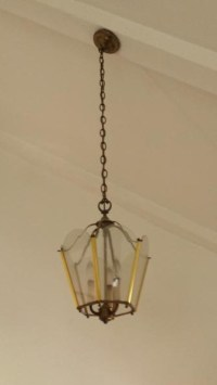 How to hang a hanging lamp on a sloped ceiling ...