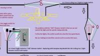 Universal remote ceiling fan/light installation diagram ...
