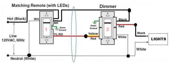 Leviton Dimmers Wiring Diagram - Wwwcaseistore \u2022