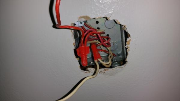 ceiling light fixture mounting bracket