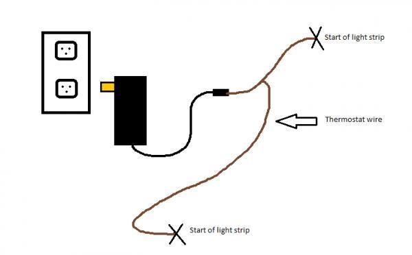 led rope light wiring diagram