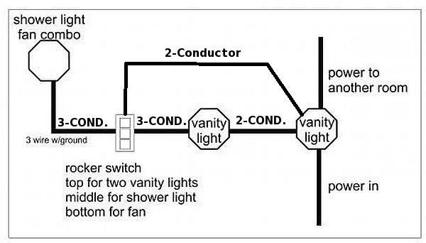 need help wiring additional lights and fan - DoItYourself