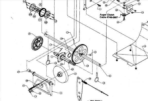 Mtd Snow Blower Wiring Diagram - Carbonvotemuditblog \u2022