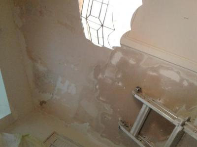 Damaged drywall after wallpaper removal - DoItYourself.com Community Forums