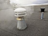 Repairing roof leak from bathroom vent - DoItYourself.com ...