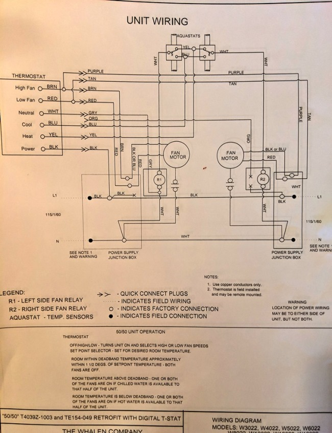 Thermostat wiring help - Electrician Talk - Professional Electrical