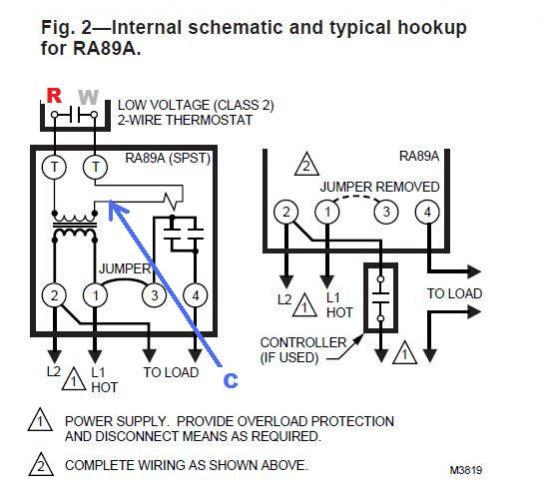 Three Wire Thermostat Diagram Electronic Schematics collections