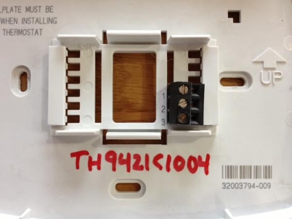 Wiring a Honeywell RTH8580WF1007 with a Equipment Interface Module