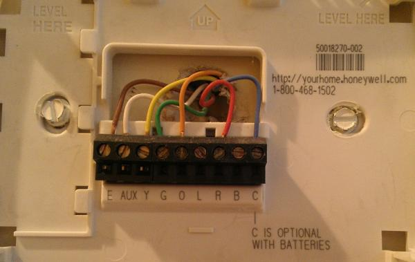 Honeywell Rth6350 Wiring Question Doityourselfcom Community Forums