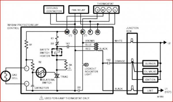 aquastat wiring diagram hi lo